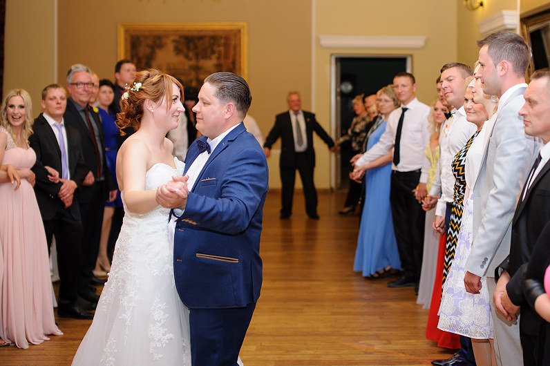 first dance in Taujėnai castle