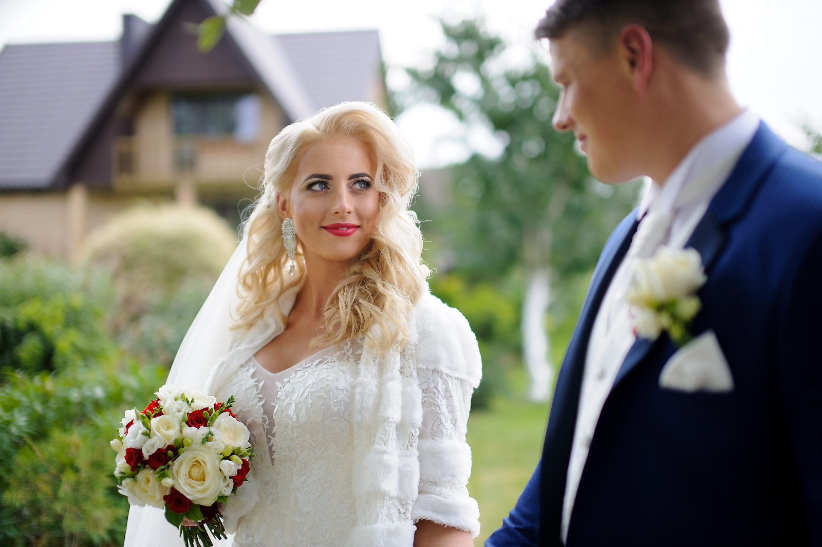 beautiful Lithuanian bride